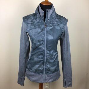 Lululemon Athletica gray jacket size 6